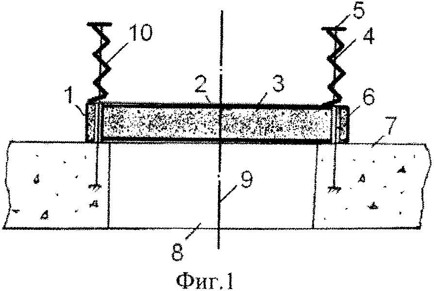 Противовзрывная панель кочетова с индикатором безопасности