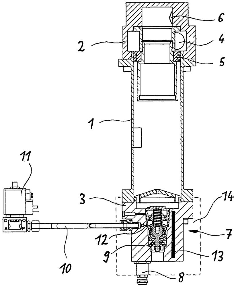 Устройство для сепарации конденсата, входящее в состав компрессорной установки для выработки сжатого воздуха