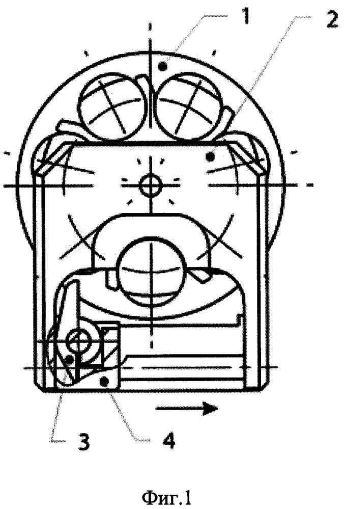 Механизм переключения камор магазина