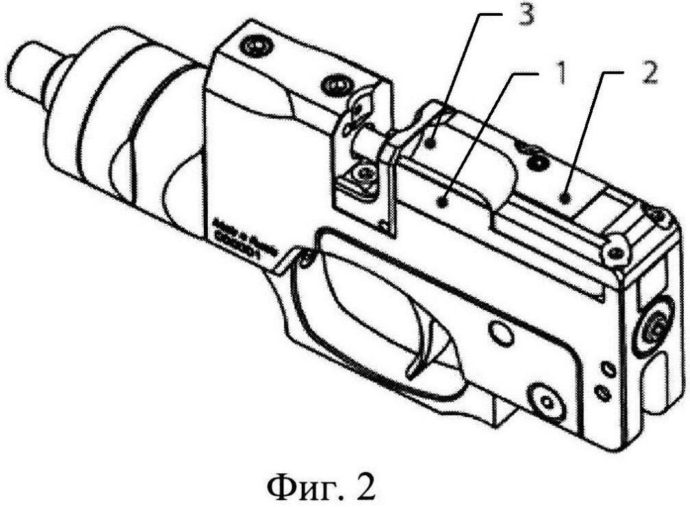 Пневматическое оружие со скрытым рычагом механизма рычажного взвода