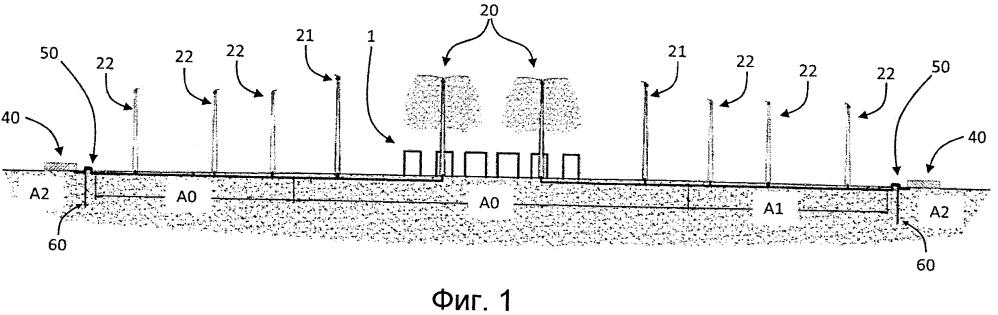 Система для уменьшения вредных выбросов в атмосферу для промышленной или атомной электростанции