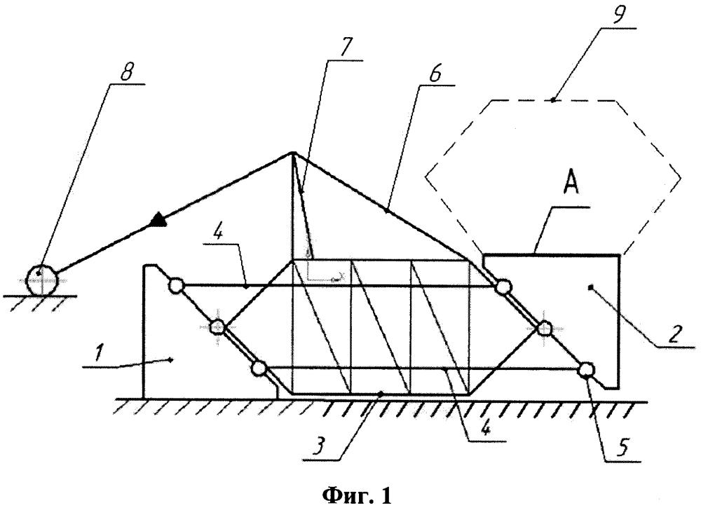 Подъемно-мачтовое устройство