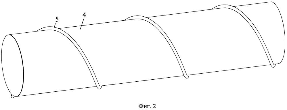 Многоэлементное волокно для источника лазерного излучения, состоящее из пассивного и легированного редкоземельными элементами стеклянных волокон, с общей полимерной оболочкой, на внешнюю поверхность которой винтообразно намотана металлическая проволока