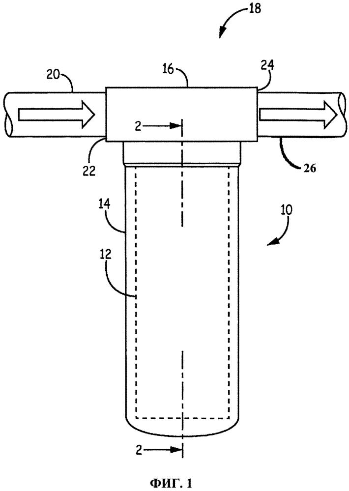Фильтрующий узел (варианты) и способ определения его срока службы