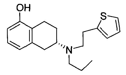 5,6,7,8-тетрагидро-6-[n,n-бис[(2-тиенил)этил]] амино-1-нафтол и способ его приготовления и использования