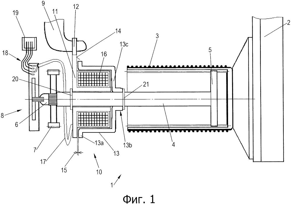 Устройство регулировки износа накладок для дискового тормоза