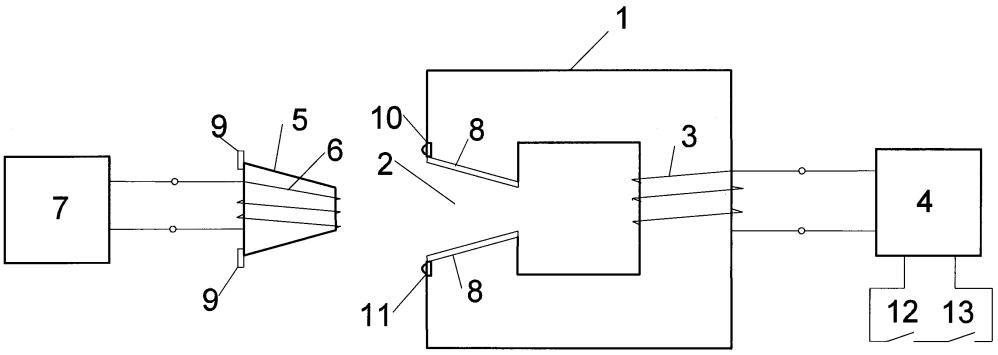 Бесконтактное устройство передачи электрической энергии