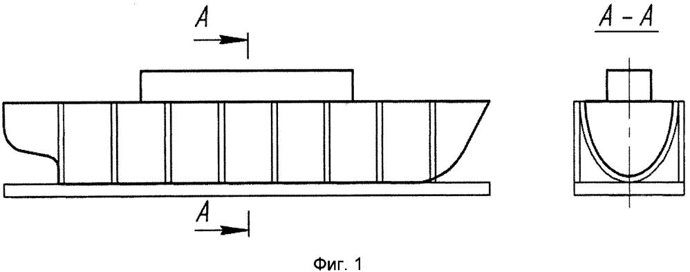 Способ стабилизации формы и размеров корпусов судов, построенных в лекальных стендах