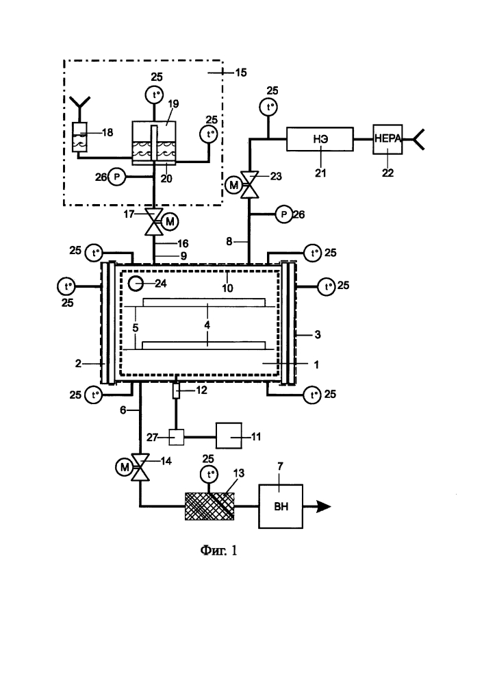 Стерилизатор для стерилизации парами перекиси водорода