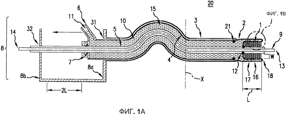 Катетер с выполненным с возможностью отвода рукавом и способ использования катетерной системы