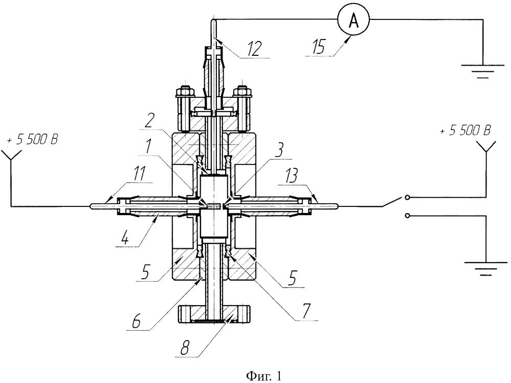 Разборный инверсно-магнетронный вакуумметрический преобразователь с дополнительным углеродным автоэлектронным эмиттером, защищенным от ионной бомбардировки