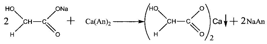 Способ выделения гликолевой кислоты из смеси продуктов диспропорционирования глиоксаля