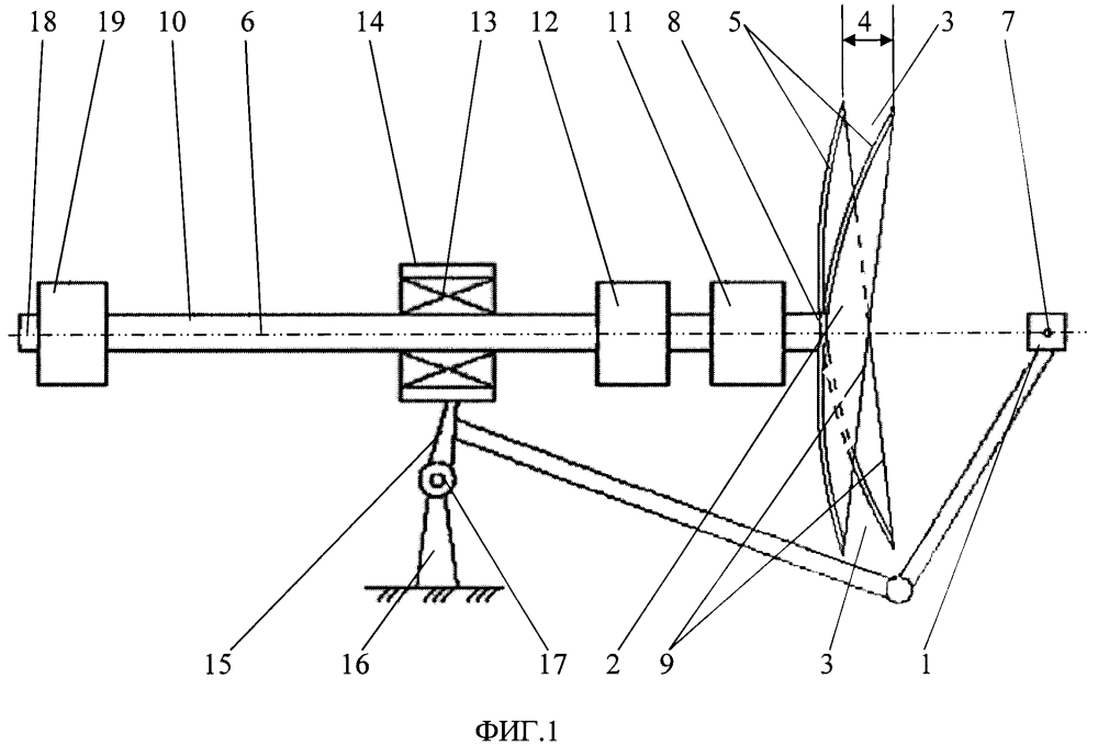 Устройство для формирования пространственного спирального поля