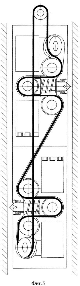 Скважинное устройство электрического каротажа обсаженной скважины