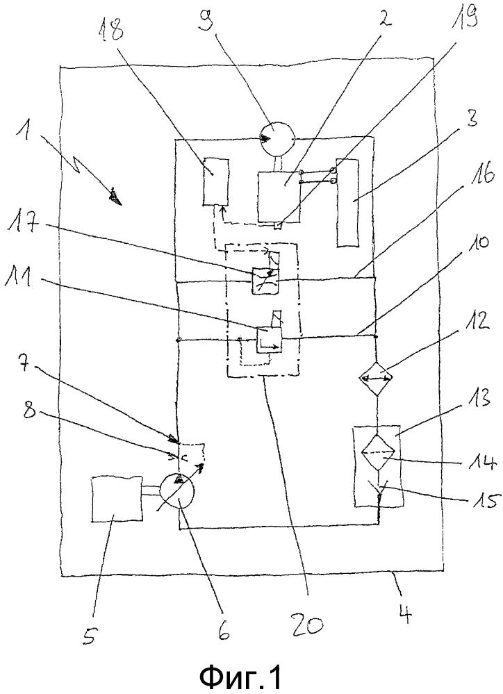 Гидростатическое приводное устройство