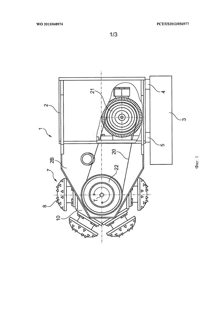 Устройство и способ для механической обработки материалов фрезерованием и бурением