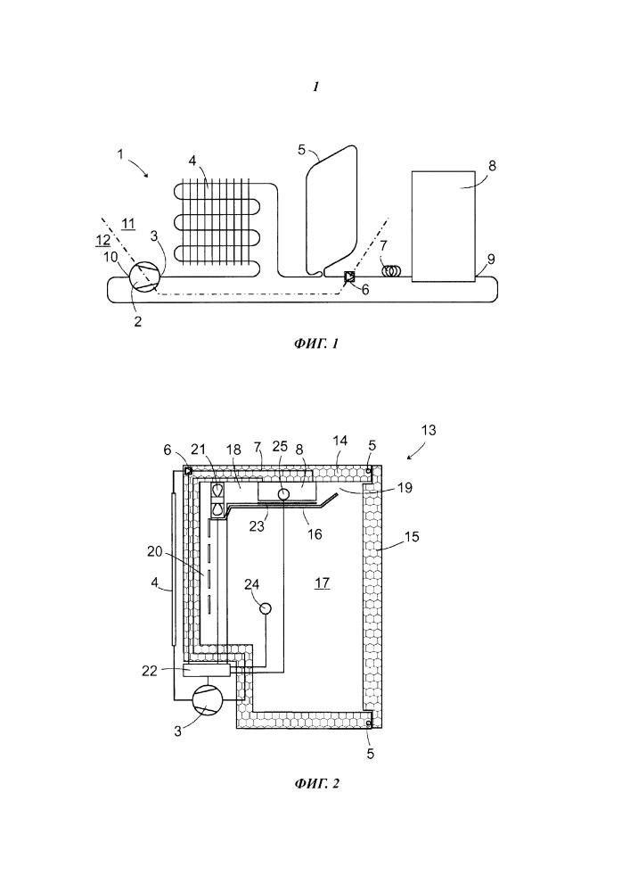 Холодильное устройство с функцией автоматического размораживания