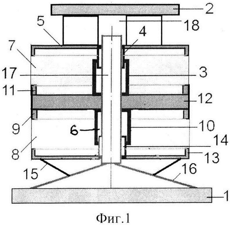 Виброизолятор симметричный шайбовый сетчатый кочетова