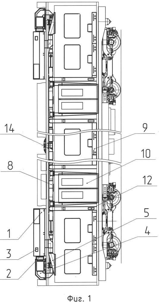 Система кондиционирования воздуха вагона