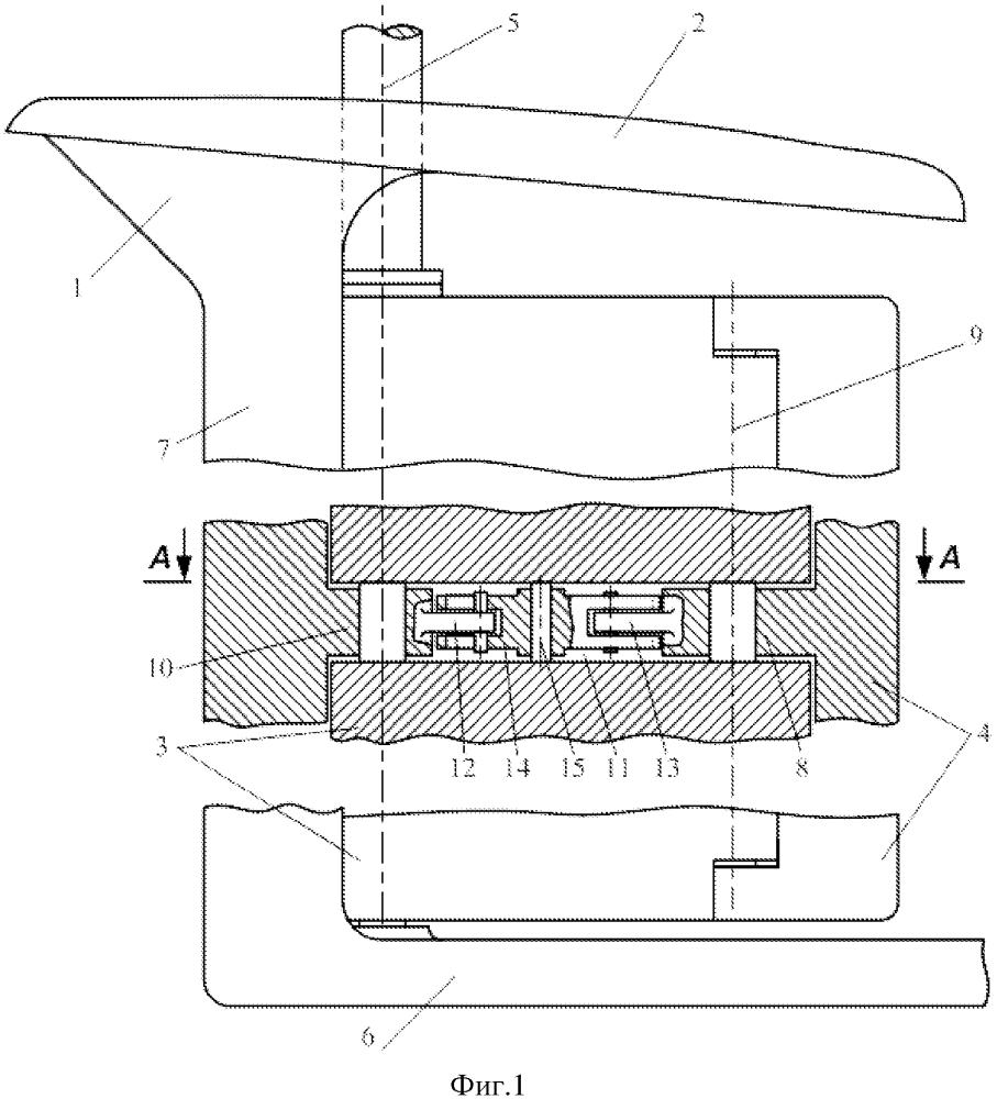 Рулевое устройство судна ледового плавания