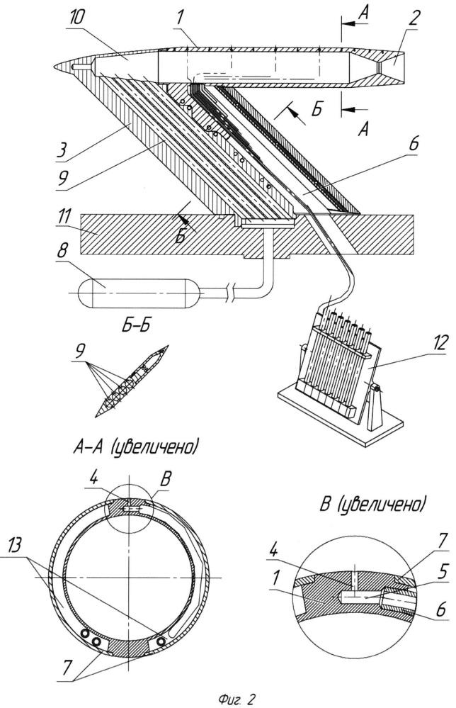 Модель летательного аппарата для исследования влияния струи реактивного двигателя на аэродинамические характеристики летательного аппарата