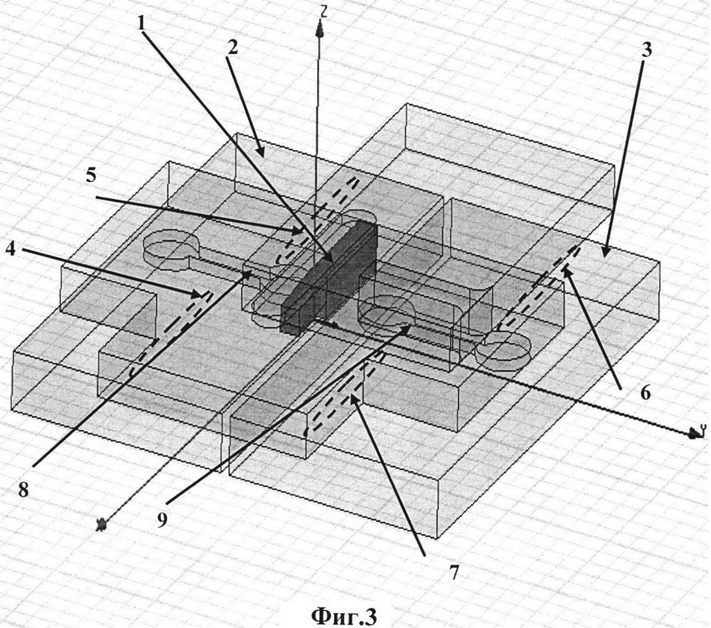 Резонансная волноводно-щелевая антенная решетка с параллельной распределительной системой на развязанных делителях мощности
