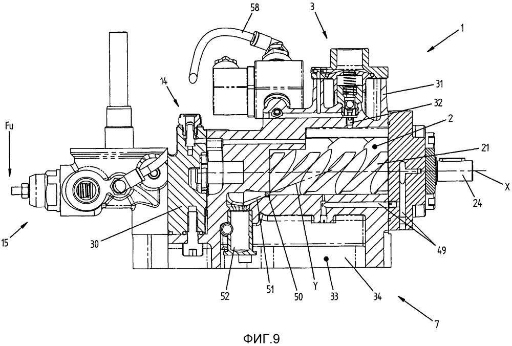 Объемный винтовой компрессор