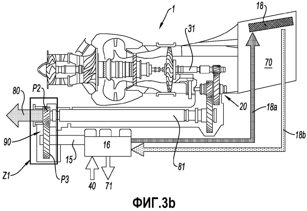 Способ и конструкция комбинирования мощности турбомашины