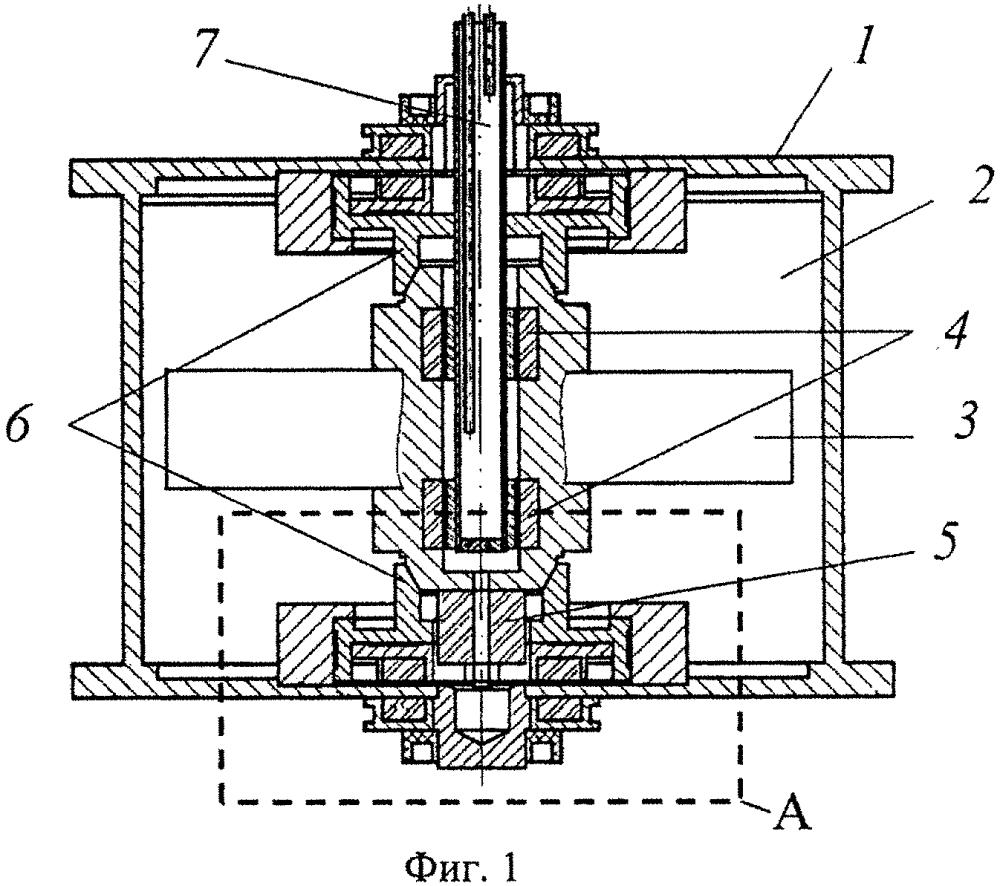 Комбинированный сверхпроводящий магнитный подвес для кинетического накопителя энергии