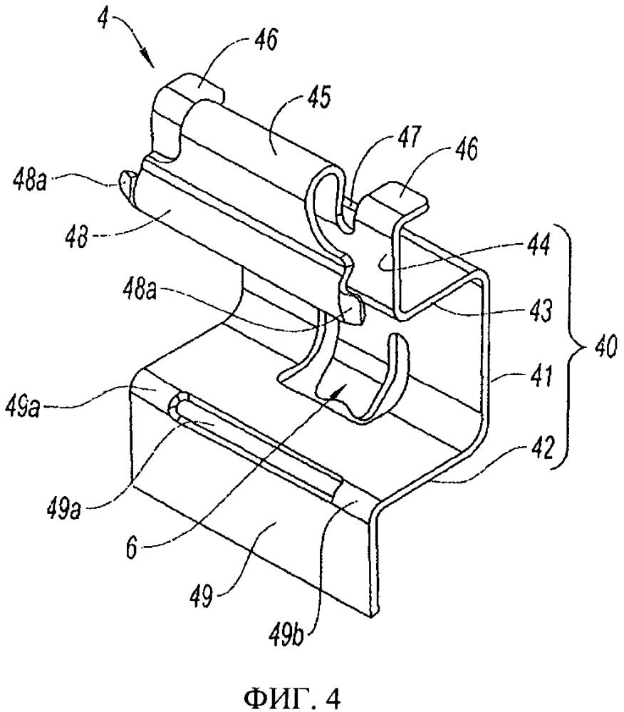 Оснащенный пружиной элемент для направления тормозной колодки дискового тормоза и дисковый тормоз, снабженный такими направляющими элементами