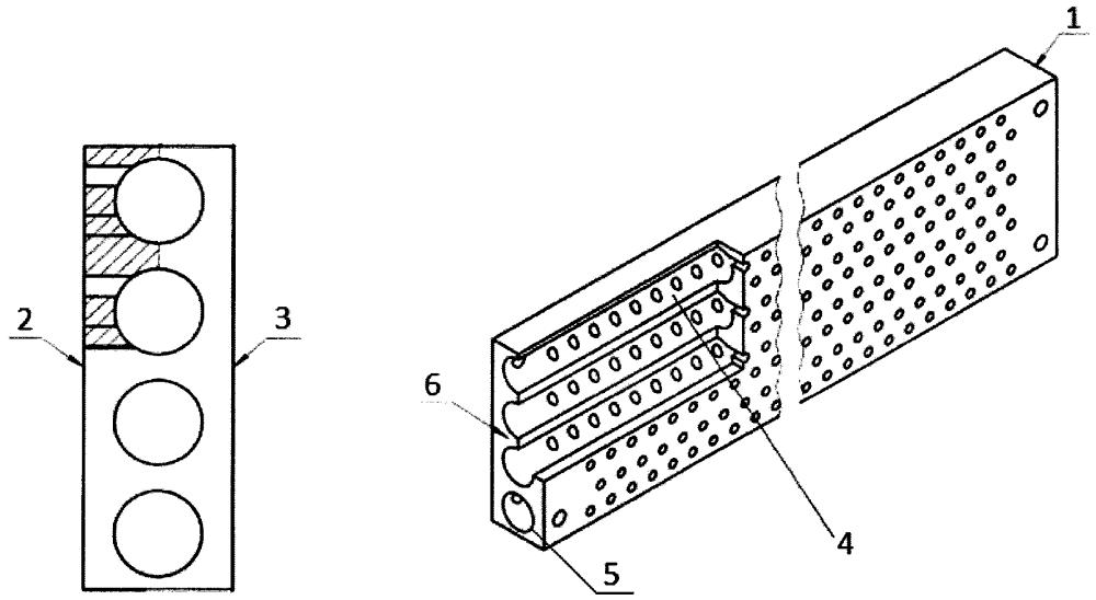 Камера распределительная продукта аппаратов воздушного охлаждения с трубчатой внутренней полостью и прямоугольной наружной геометрией