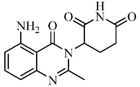 Твердые формы 3-(5-амино-2-метил-4-оксо-4н-хиназолин-3-ил)пиперидин-2, 6-диона и их фармацевтические композиции и применение