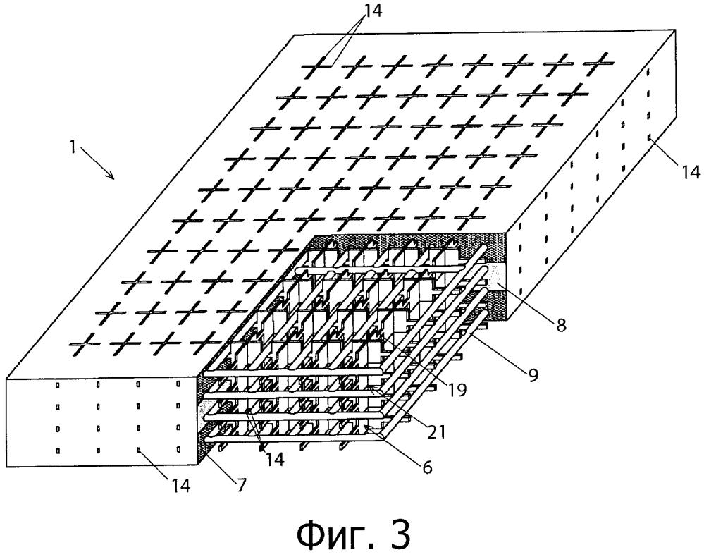 Светопропускающий строительный элемент и компактная пространственная решетка (варианты) для него