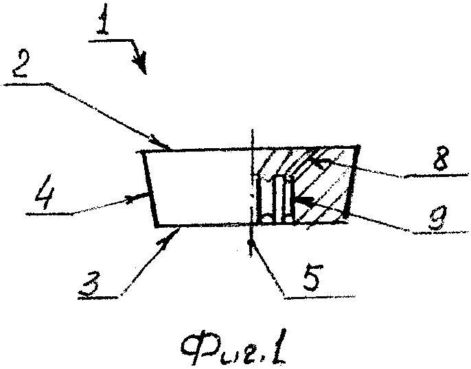 Круглая режущая пластина и сборный резец