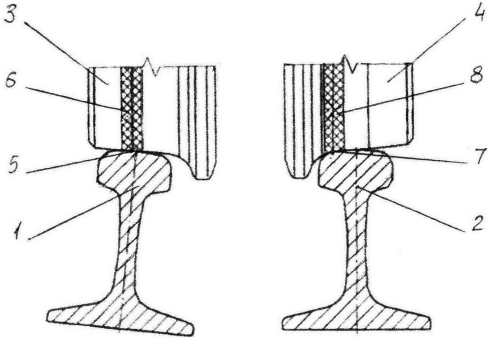 Способ эксплуатации кривого участка пути в плане и устройство рельсовой колеи в кривых