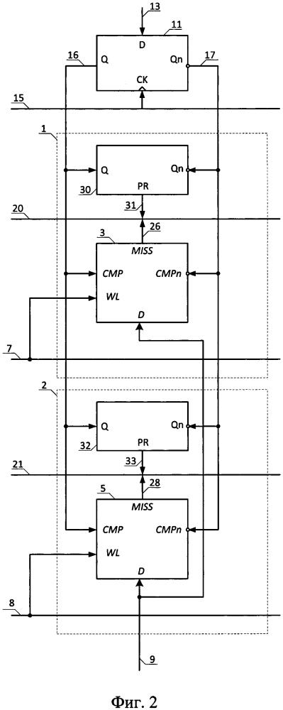 Способ предзаряда линии совпадения регистра ассоциативного запоминающего устройства (азу) и модуль предзаряда