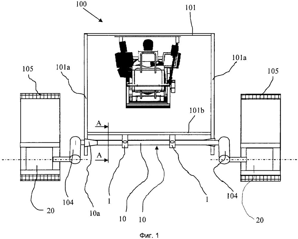 Устройство усиления днища транспортного средства, оснащенного торсионными стержнями, и транспортное средство, оснащенное таким устройством