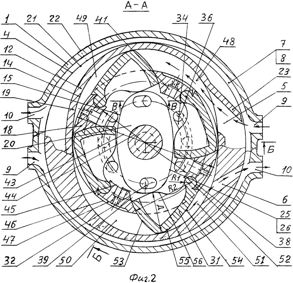 Двигатель внутреннего сгорания и способ его работы