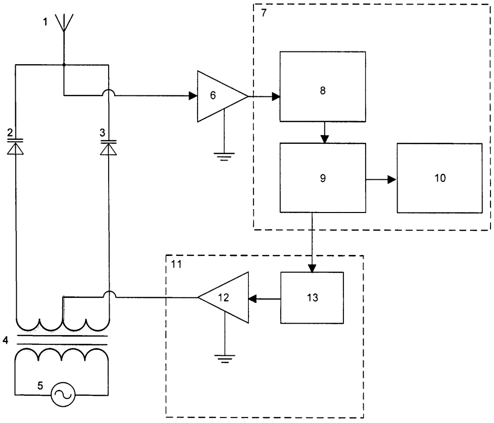 Устройство для измерения напряжённости электрического поля