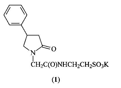 Производное 4-фенилпирролидинона-2, содержащая его композиция с ноотропной активностью, способ их получения и способ лечения или профилактики нарушений нервной системы