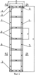 Металлический каркас монолитной железобетонной колонны