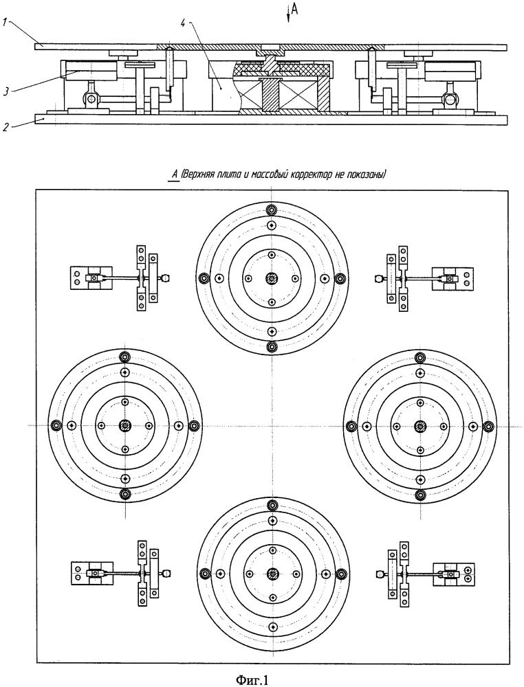 Активная виброизолирующая платформа на основе магнитореологических эластомеров