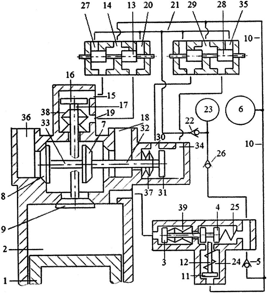 Способ дополнительного наполнения цилиндра двигателя внутреннего сгорания воздухом или топливной смесью перекрытием фаз газораспределения системой привода двухклапанного газораспределителя с зарядкой пневмоаккумулятора системы привода газом из компенсационного пневмоаккумулятора