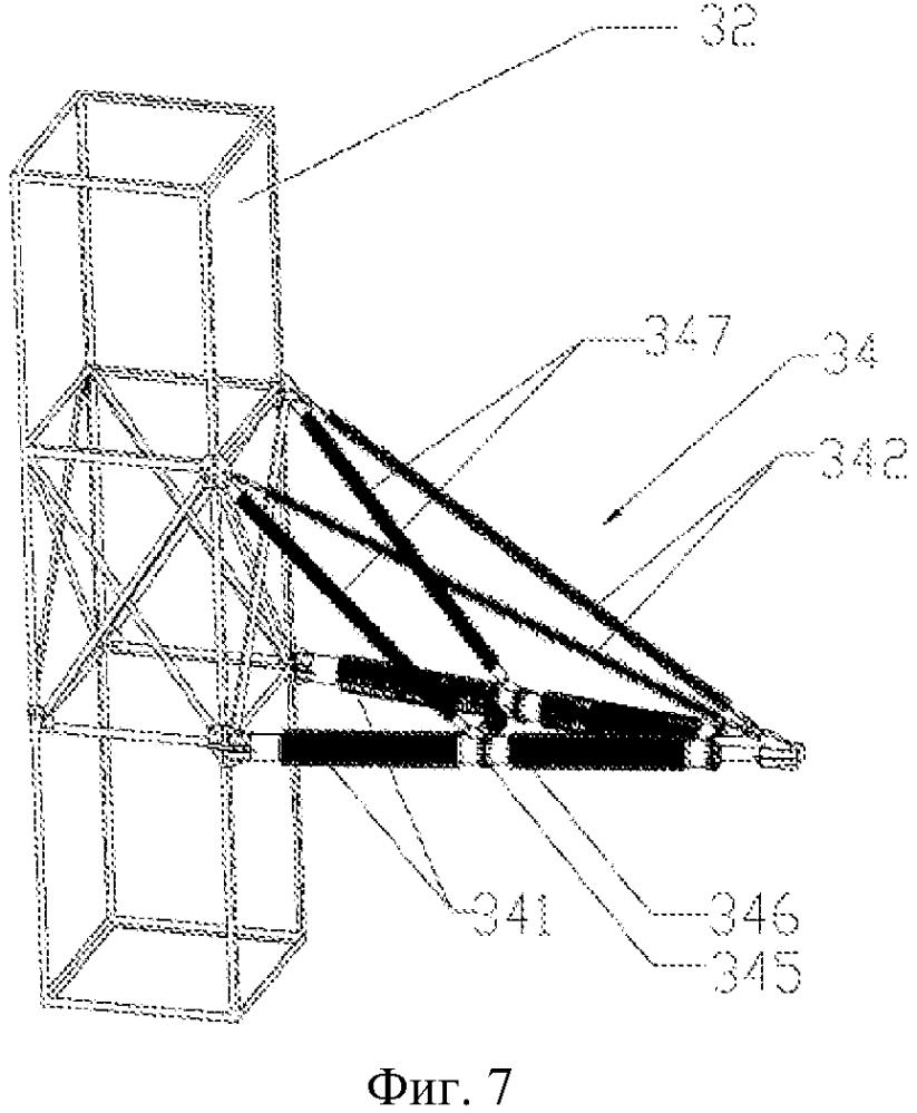 Композиционная опора для линии электропередачи и конструкция ее композиционной траверсы