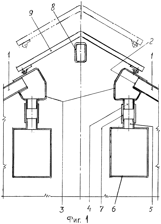 Способ адаптации покрытия теплицы, устройство для осуществления способа
