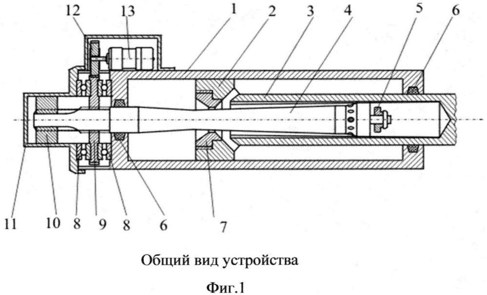 Гидравлический тормоз отката артиллерийского орудия