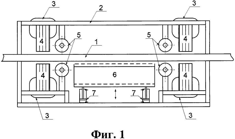 Регулируемый магнитный подвес транспортного средства с коррекцией подъемной силы