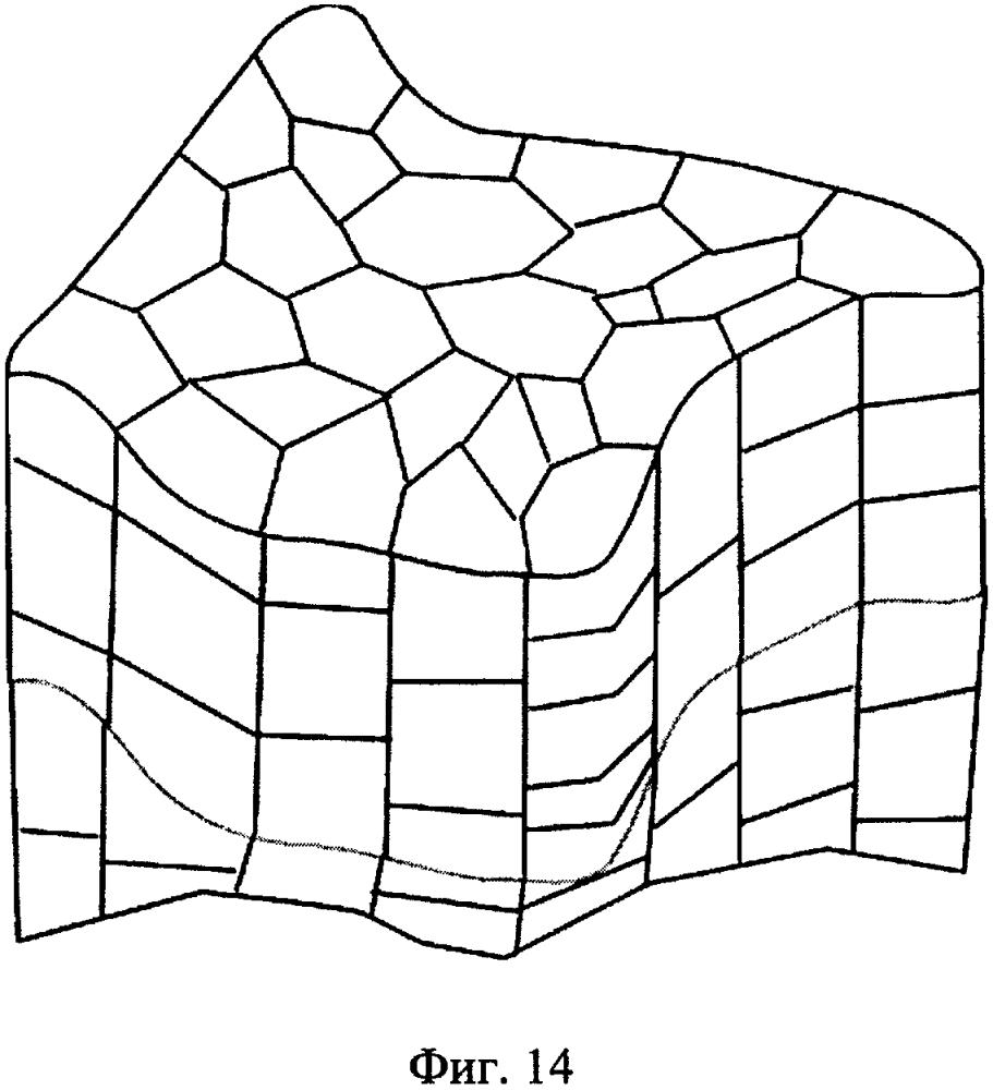 Способ трехмерного моделирования заданного гидрогеологического объекта, реализуемый в вычислительной системе