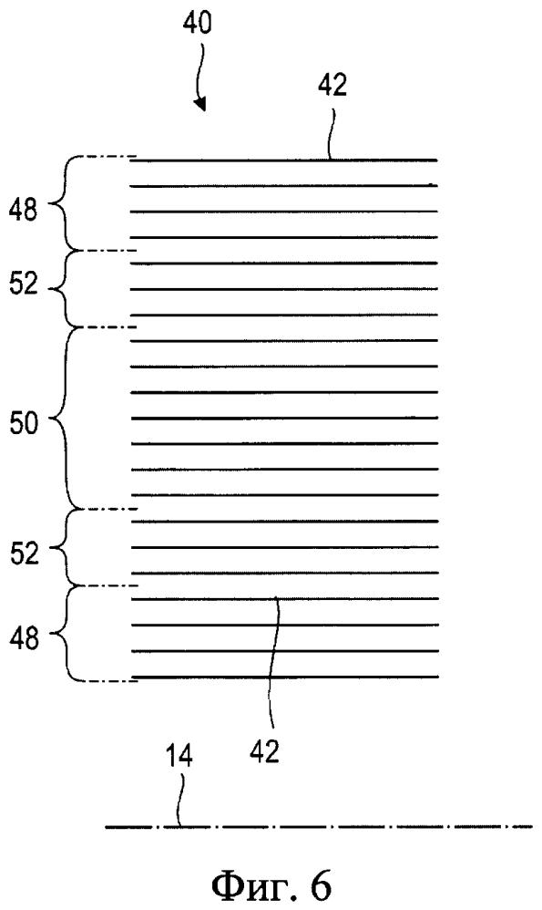 Осевая турбомашина и корпус из композиционного материала для осевой турбомашины
