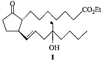 Средство, представляющее собой этиловый эфир (±)-11,15-дидезокси-16-метил-16-гидроксипростагландина e1, проявляющее абортивную активность, оптимально, в сочетании с мифепристоном